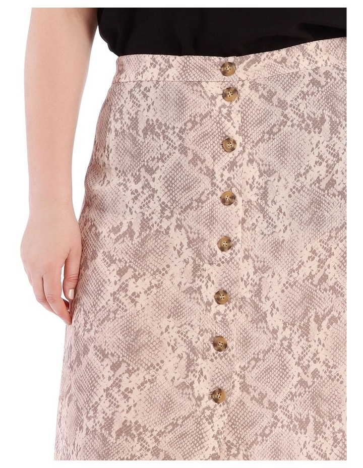 Button Front Skirt image 4