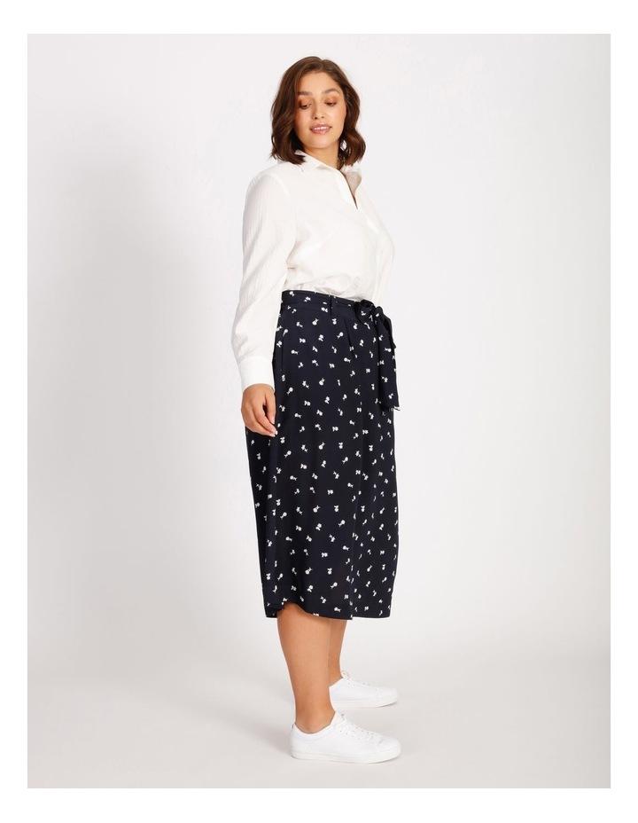 Curve Wrap Midi Skirt image 2