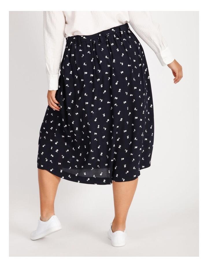 Curve Wrap Midi Skirt image 3