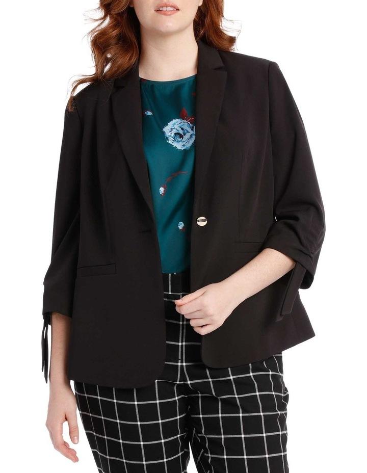 black fashion jacket image 1