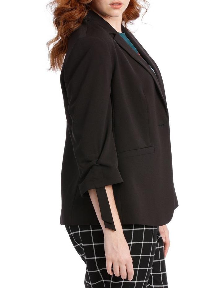 black fashion jacket image 2