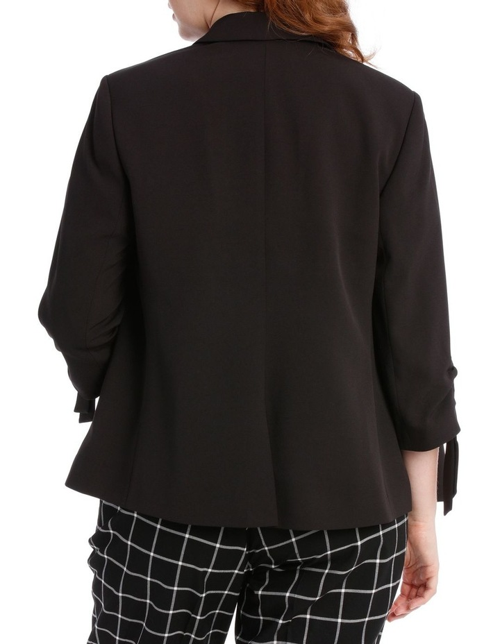 black fashion jacket image 3