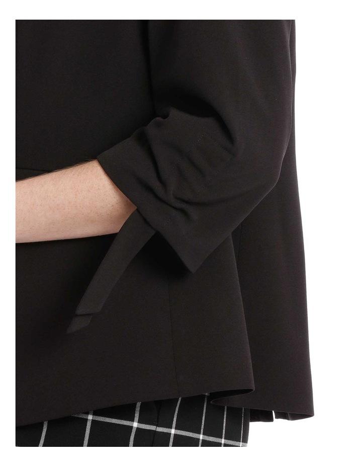 black fashion jacket image 4
