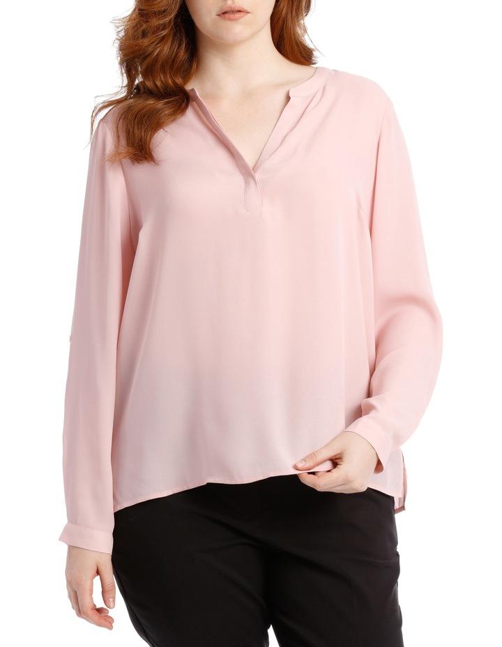 Double Pocket Shirt - Blush image 1