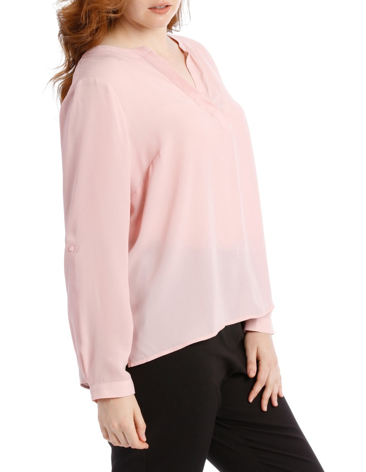 Double Pocket Shirt - Blush image 2