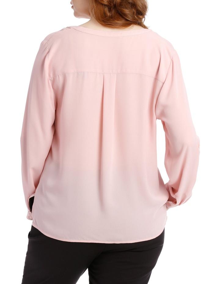Double Pocket Shirt - Blush image 3