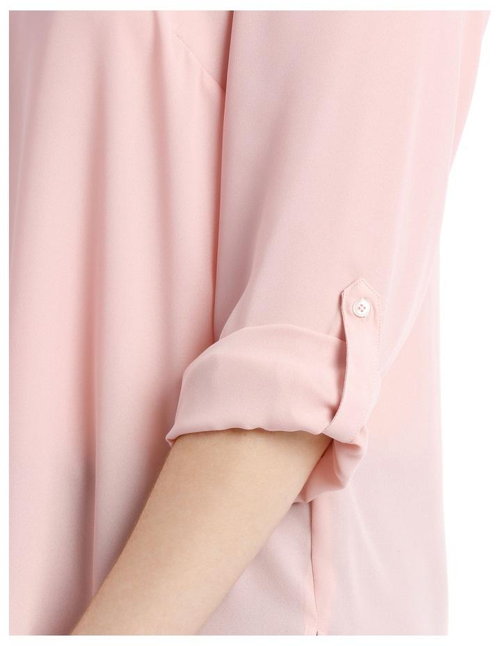 Double Pocket Shirt - Blush image 4