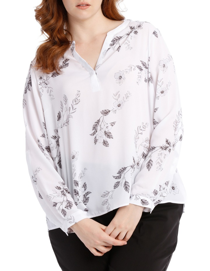 Double Pocket Shirt - Climbing Floral image 1