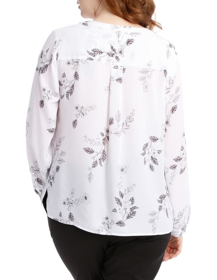 Double Pocket Shirt - Climbing Floral image 3