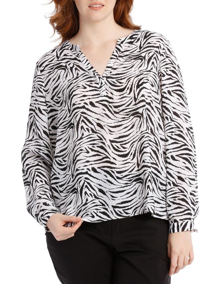 Double Pocket Shirt - Zebra image 1