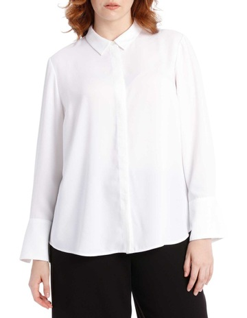3010cd22a4a475 Tokito Curvewhite work shirt. Tokito Curve white work shirt. price