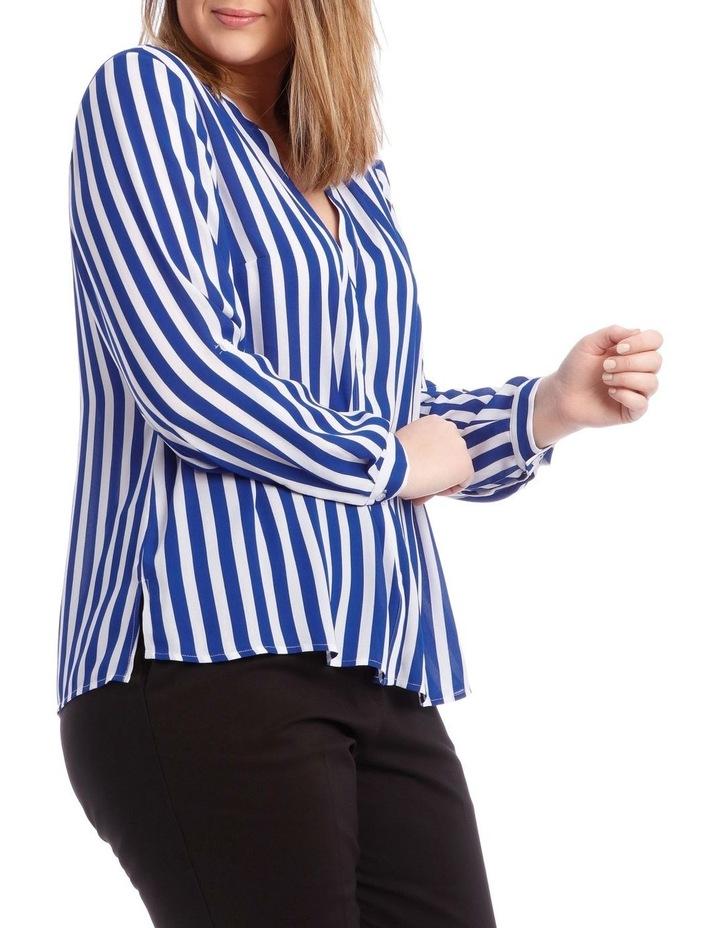 Stripe Button Through Shirt image 2