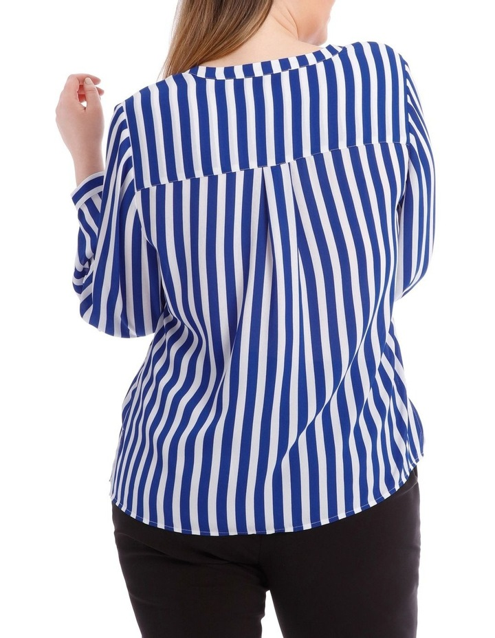 Stripe Button Through Shirt image 3