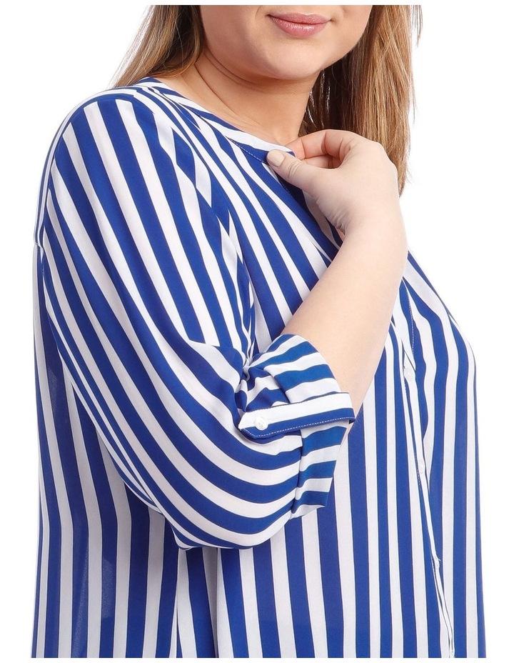 Stripe Button Through Shirt image 4