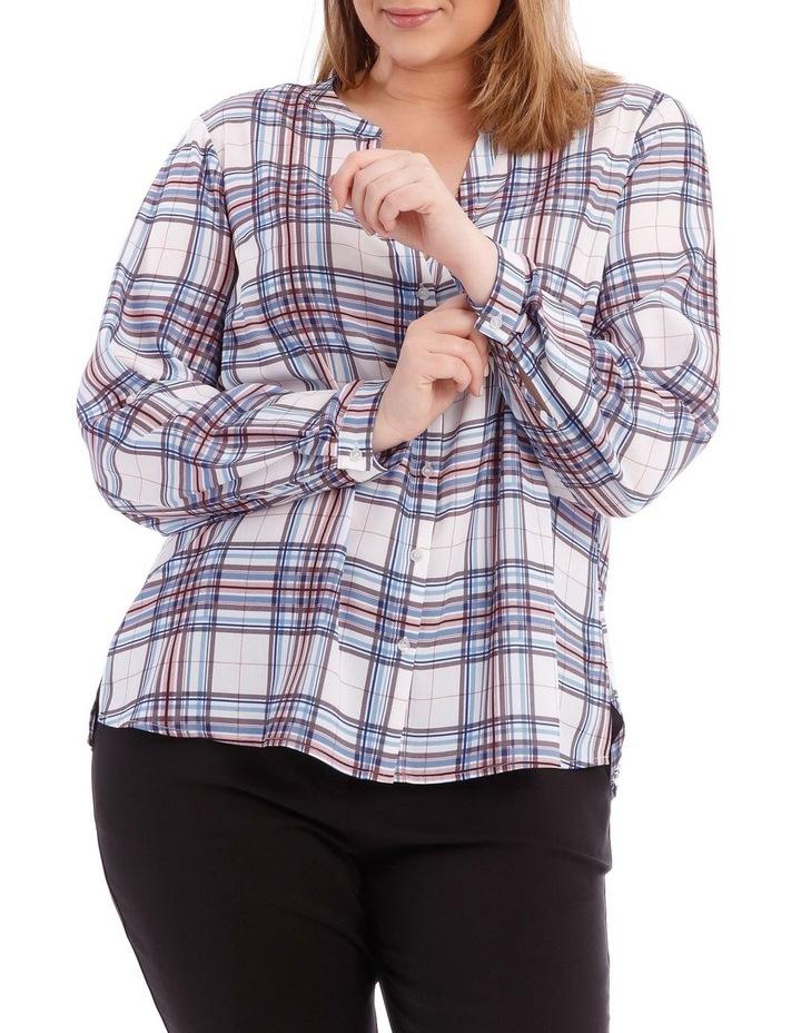 Check Button Through Shirt image 1