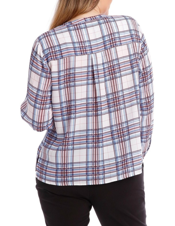 Check Button Through Shirt image 3