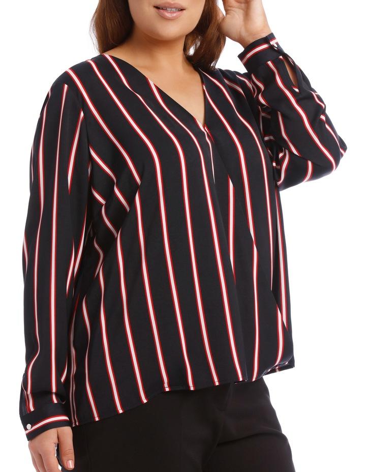 Wrap Shirt - Stripe image 2