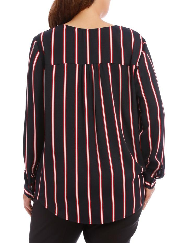 Wrap Shirt - Stripe image 3