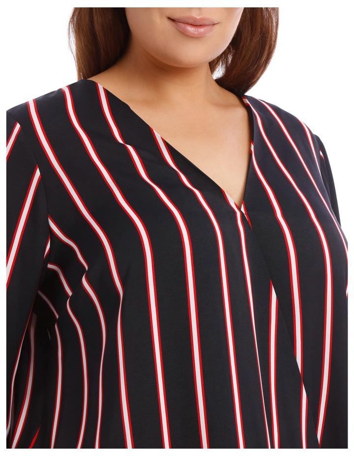Wrap Shirt - Stripe image 4