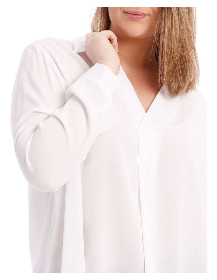 White Collared Top image 4
