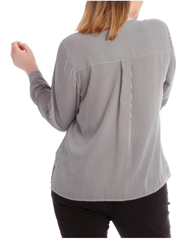 Fine Stripe Button Through Shirt image 3