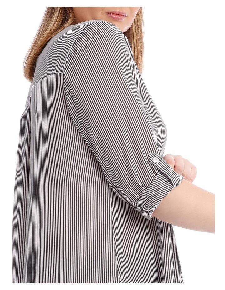 Fine Stripe Button Through Shirt image 4