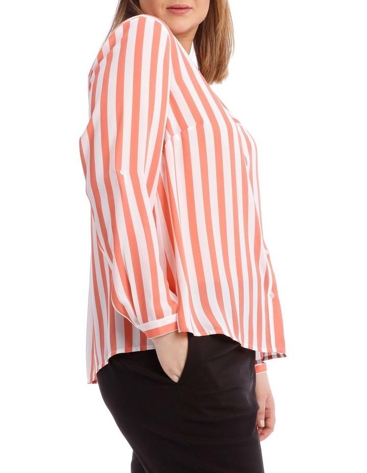 Candy Stripe Button Through Shirt image 2