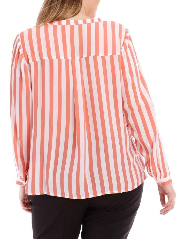 Candy Stripe Button Through Shirt image 3