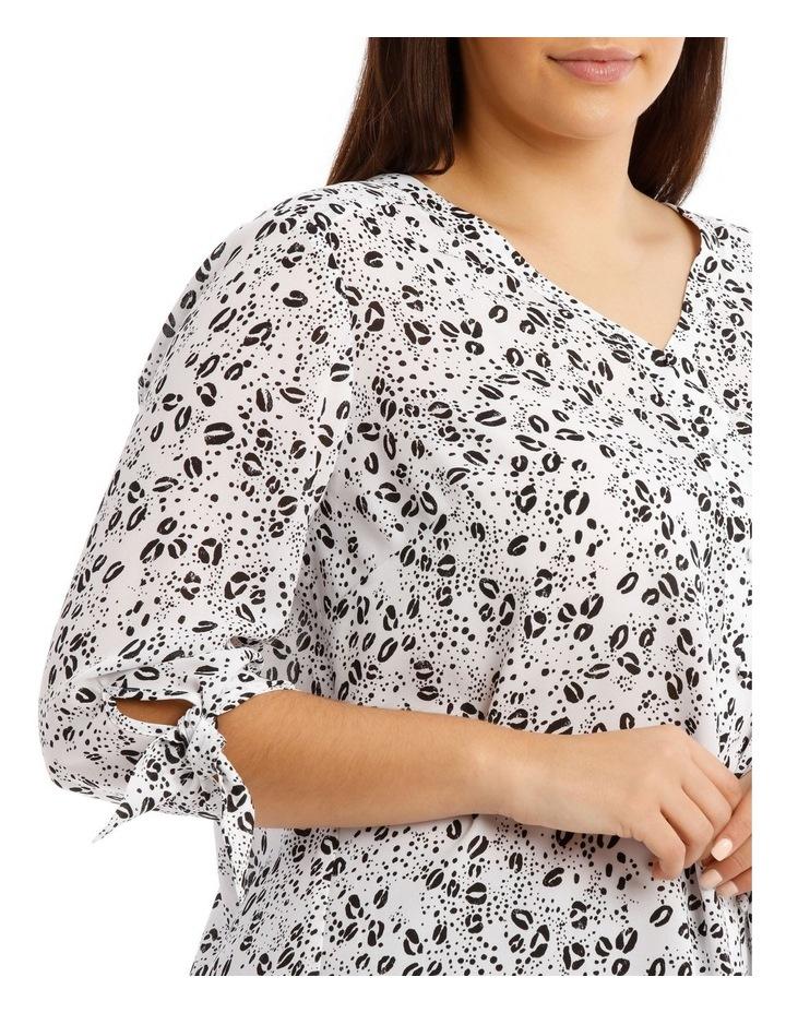 Tie Sleeve Shirt - Graphic Ocelot image 4