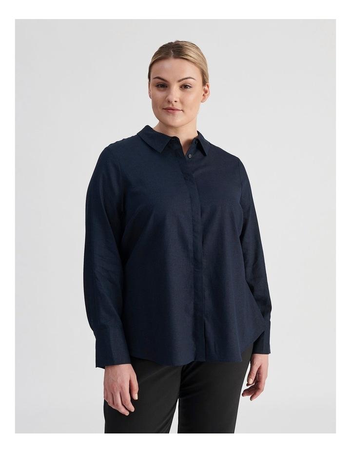 Linen Blend Shirt image 1