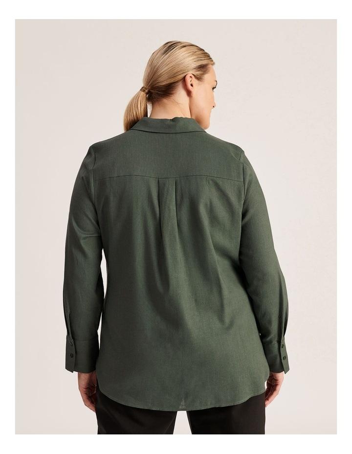 Linen Blend Shirt image 4