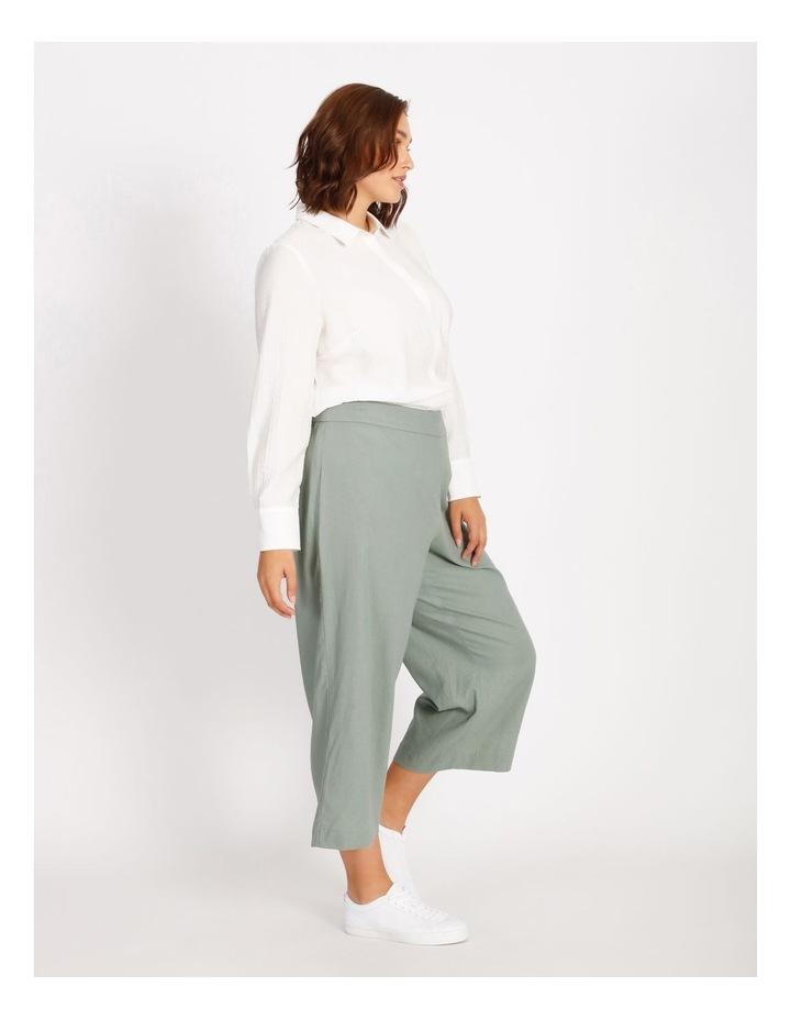 Curve Cotton Stripe Tunic Shirt image 2