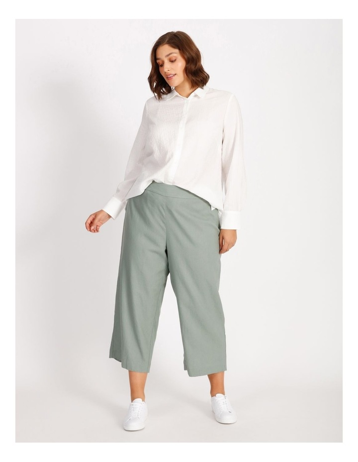 Curve Cotton Stripe Tunic Shirt image 3