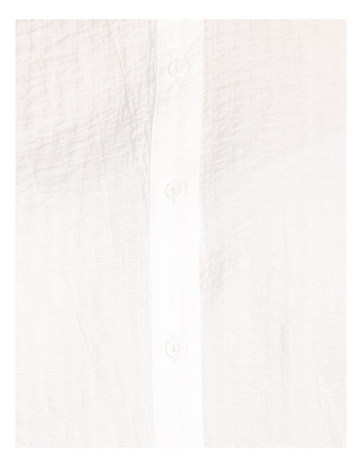 Curve Cotton Stripe Tunic Shirt image 6