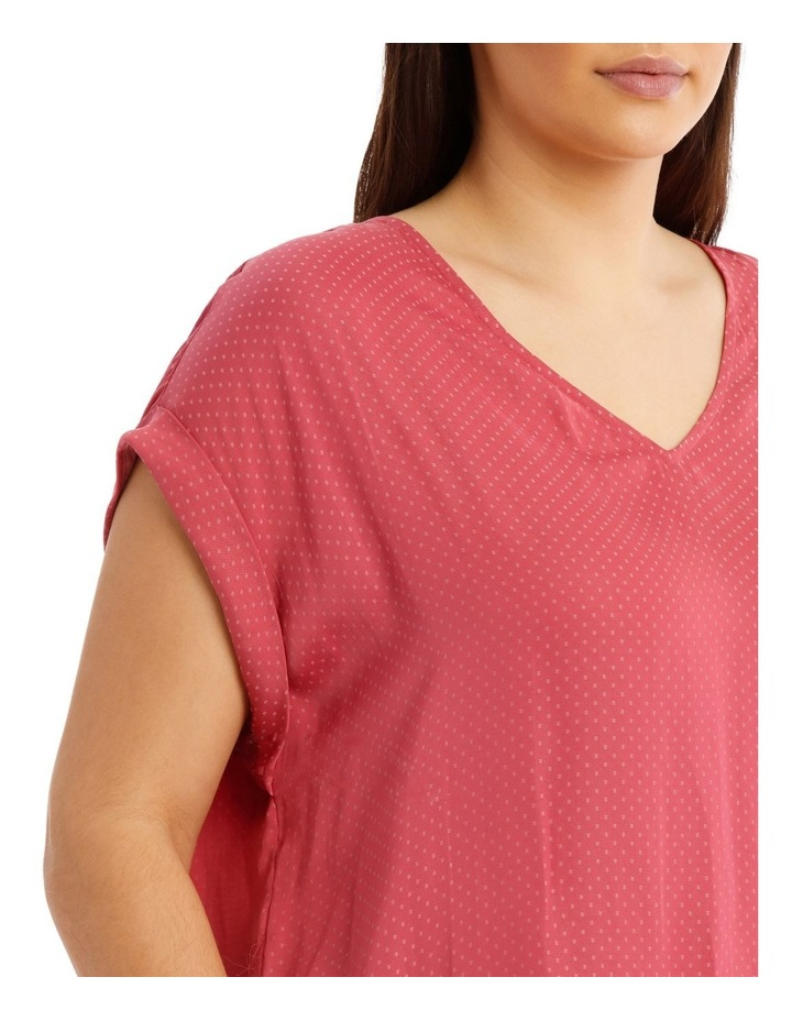 V-Neck Cuffed To image 4