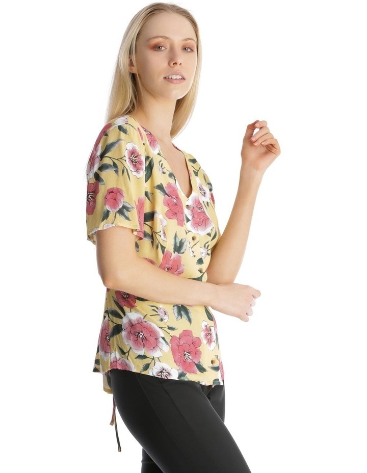 Button Front Blouse - Large Bloom image 2