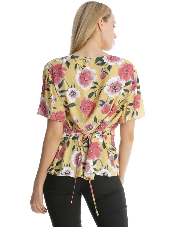 Button Front Blouse - Large Bloom image 3
