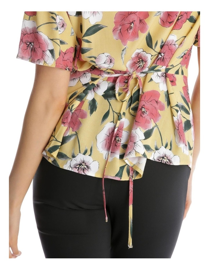 Button Front Blouse - Large Bloom image 4