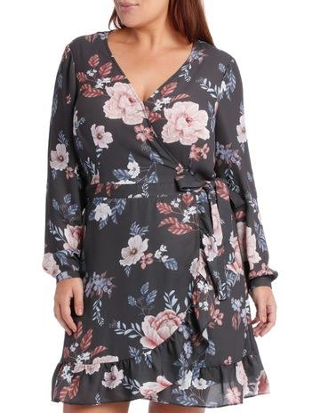cef0fbcdb7d Tokito CurveFrill Skirt Wrap Dress