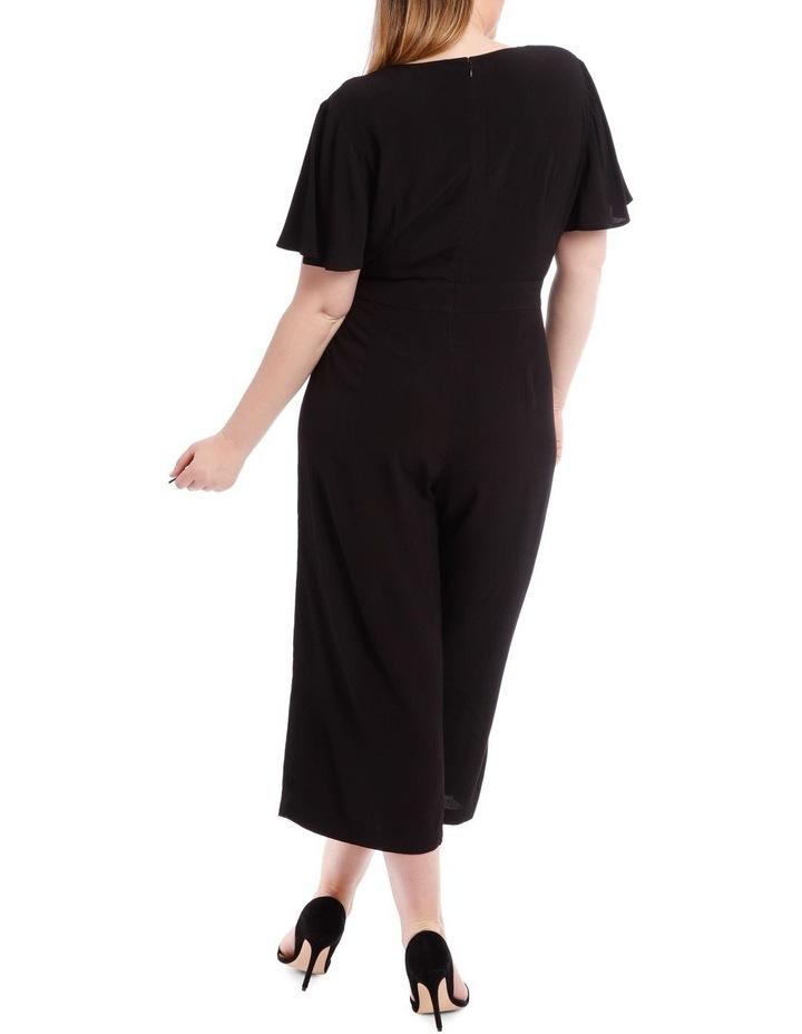 Black Culotte Jumpsuit image 3