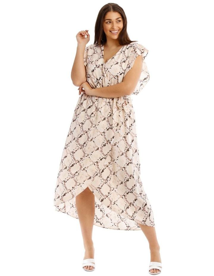 Midi Dress With Waist Tie image 1