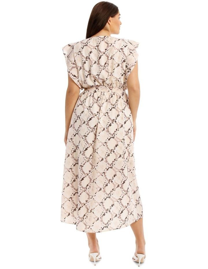Midi Dress With Waist Tie image 3