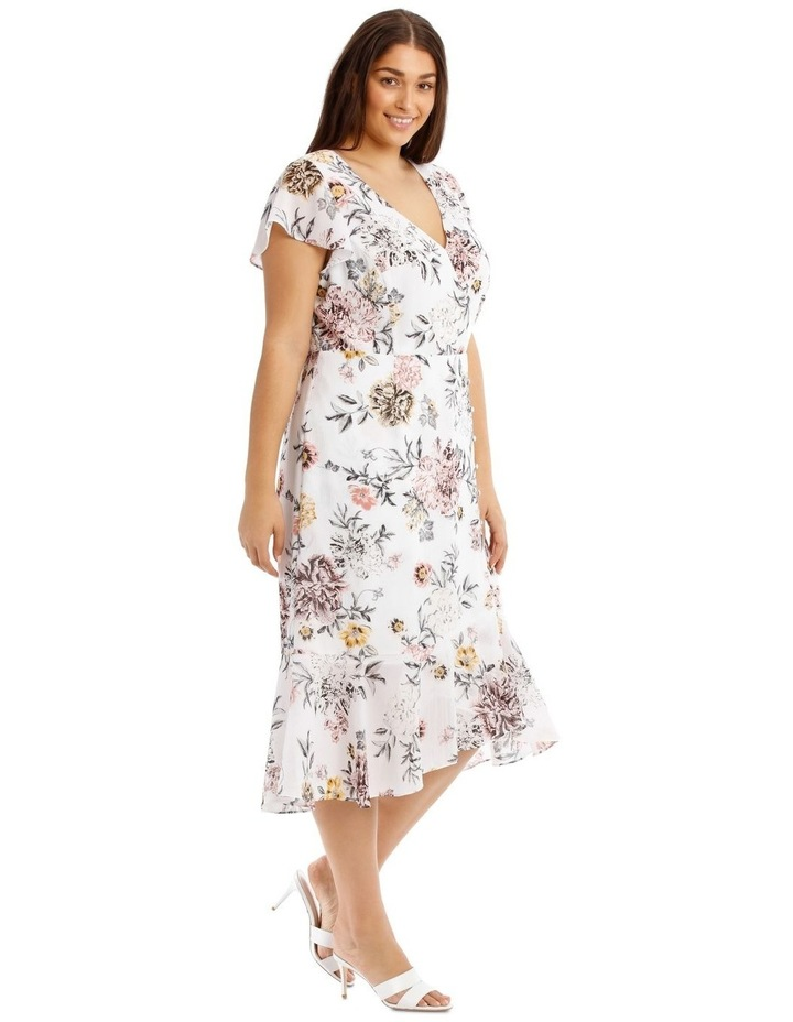 Button Detail Maxi Dress - Floral image 2