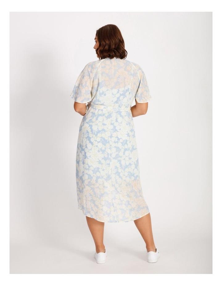 Curve Wrap Midi Dress image 3