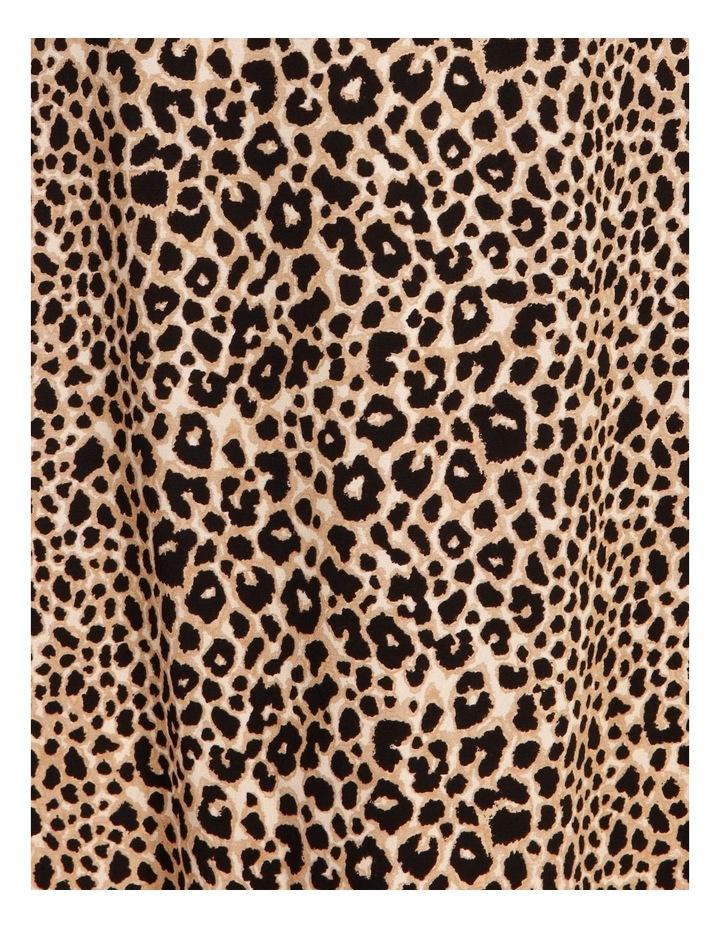 Curve Printed Wrap Midi Dress image 5