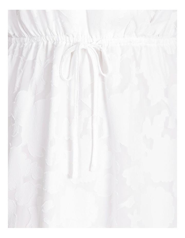 Botanical Jacquard Mini Dress image 5