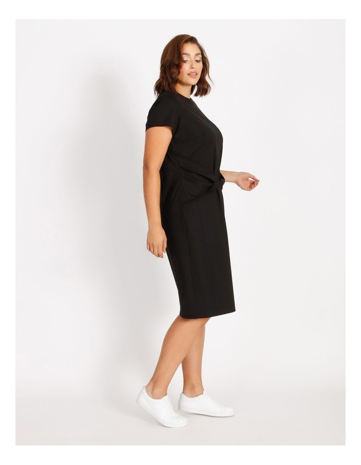 Curve Twist Jersey Midi Dress image 2