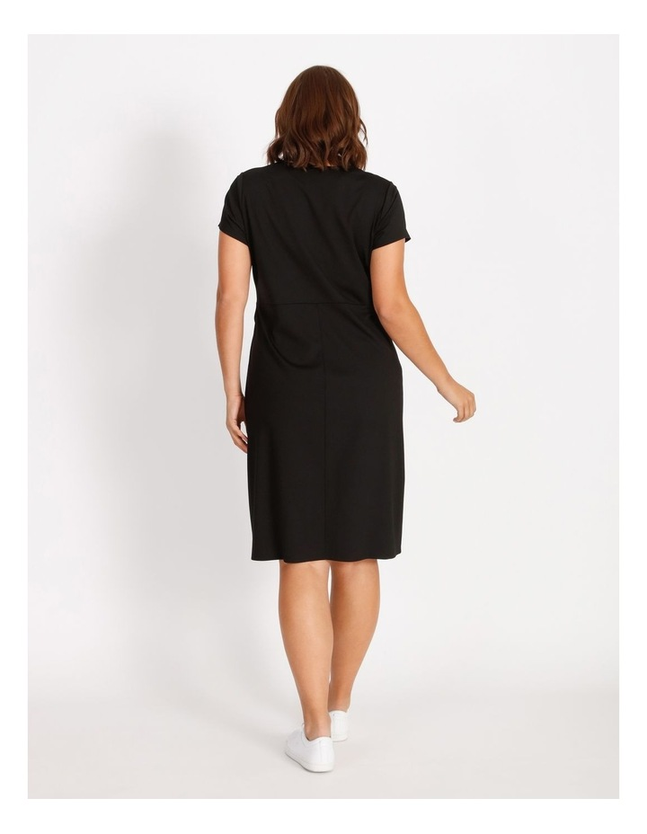 Curve Twist Jersey Midi Dress image 3