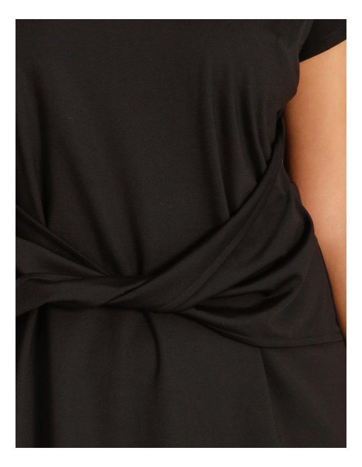 Curve Twist Jersey Midi Dress image 4