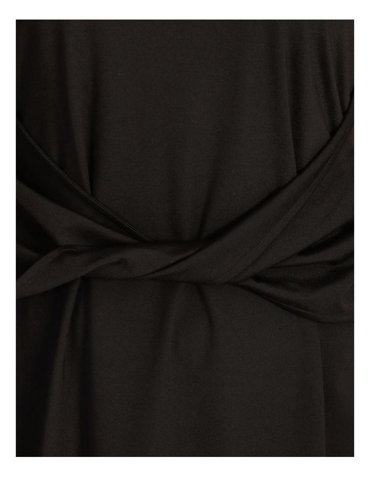 Curve Twist Jersey Midi Dress image 5